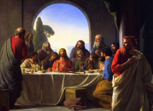 Judas Retiring from the Last Supper