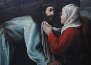 Woman Washing Christ's Face